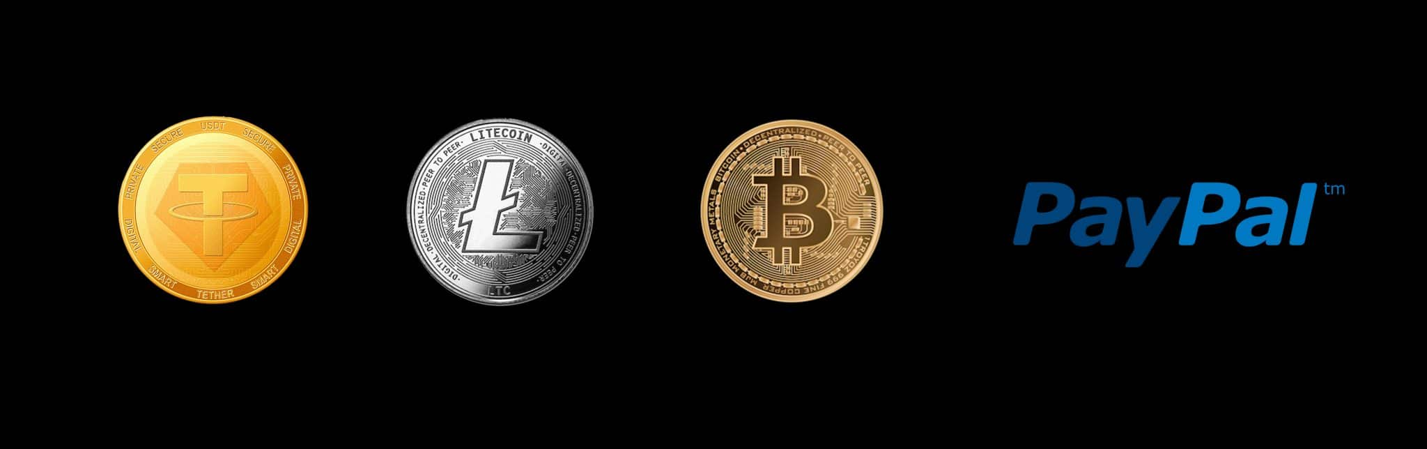 Payments tether bitcoin litecoin PayPal